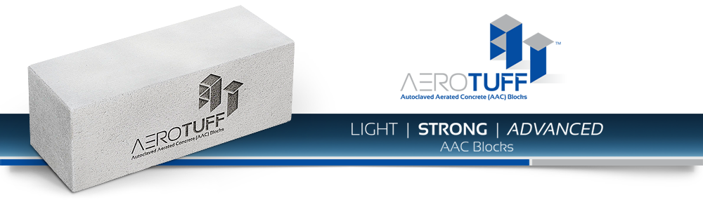 Aerotuff- AAC blocks, the most concrete cement blocks ARL Infratech
